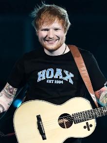 Ed Sheeran volta e fará dois shows aqui no Brasil. Veja quando será