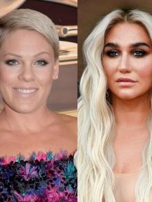 Pink lança música e grava com a filha e Kesha está de clipe novo