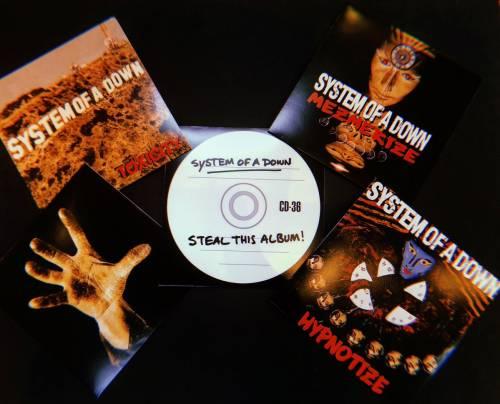foto: 1 - System of a down lança todos os álbuns de estúdio em vinil