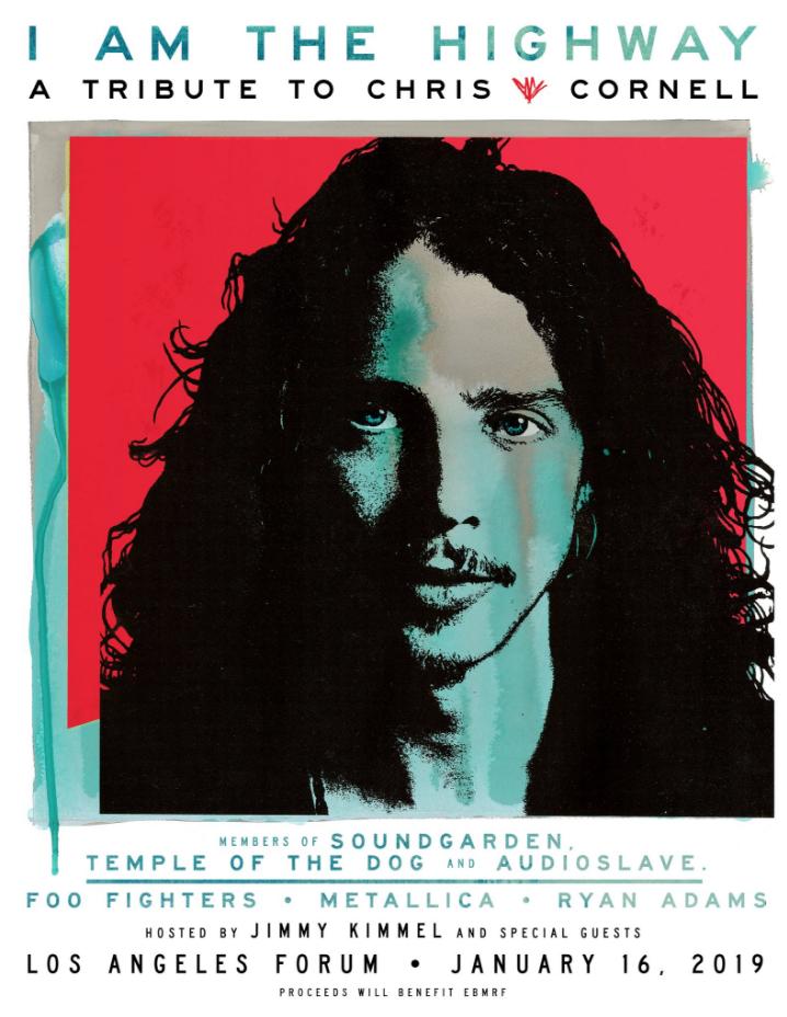 foto: 1 - Chris Cornell ganha tributo com Metallica, Foo Fighters e mais