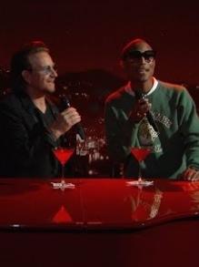 Bono, U2, faz dueto com Pharrell W e Black Eyed Peas lança clipe novo