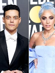 Lady Gaga e Rami Malek com seu Freddie Mercury concorrem ao Oscar