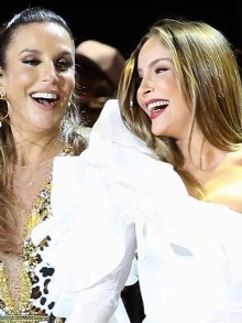 Ivete Sangalo libera clipe de parceria com Claudia Leitte