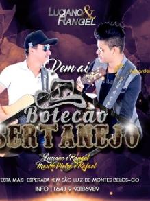 show LUCIANO E RANGELSAO LUIS DE MONTES BELOS/GO