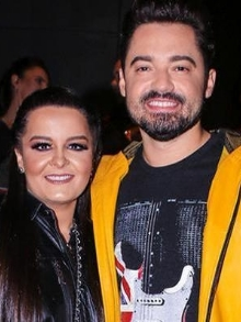 O casalFernando Zor e Maiara gravam música do Roberto Carlos. Veja aqui