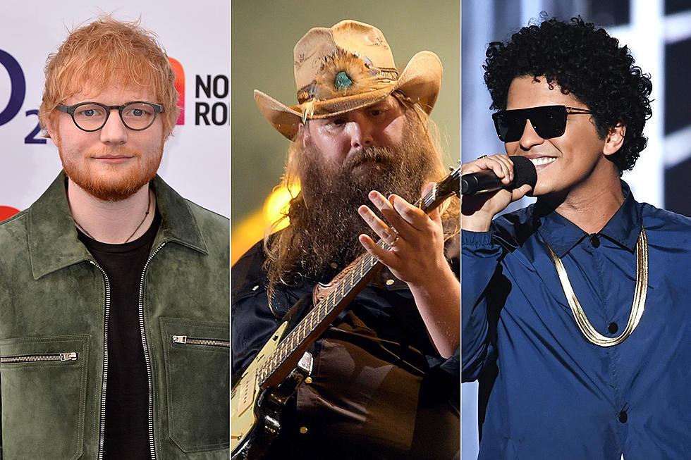 foto: 1 - Ed Sheeran libera mais uma música, agora com Mars e Chris Stapleton