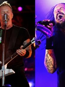 Metallica lança quebra-cabeça de capas de discos e Korn clipe novo