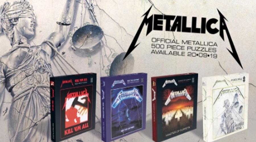 foto: 2 - Metallica lança quebra-cabeça de capas de discos e Korn clipe novo