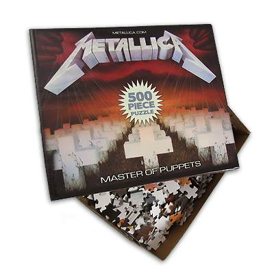 foto: 3 - Metallica lança quebra-cabeça de capas de discos e Korn clipe novo