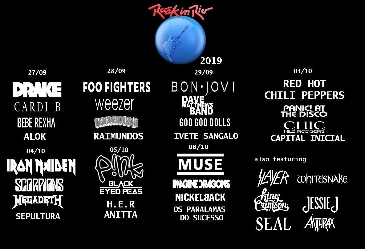 foto: 1 - Novo lote de ingressos para o Rock in Rio estará disponível amanhã