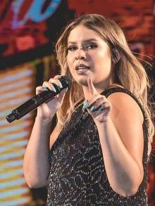 Grávida, Marília Mendonça escreve música para filho e lança EP