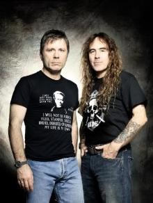 Bruce Dickinson e Steve Harris, do Iron Maiden, planejam disco juntos