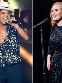 Bruno Mars e Adele são os melhores da década. Saiba tudo aqui