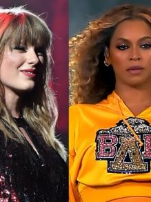 Beyoncé e Taylor Swift disputam Globo de Ouro. Veja quem mais