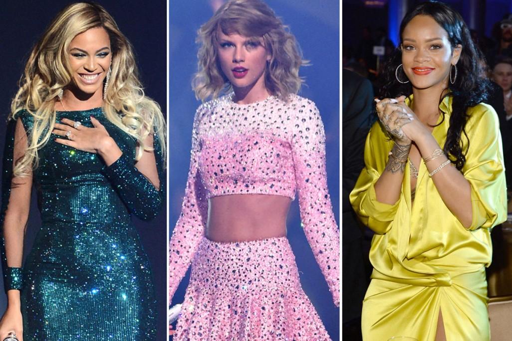 foto: 1 - Beyoncé, Rihanna e Taylor Swift são as mais poderosas do ano