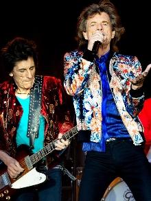 Rolling Stones planejam novo disco e turnê mundial para 2020
