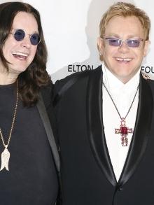Ozzy Osbourne lança ótima música com Elton John. Escute aqui
