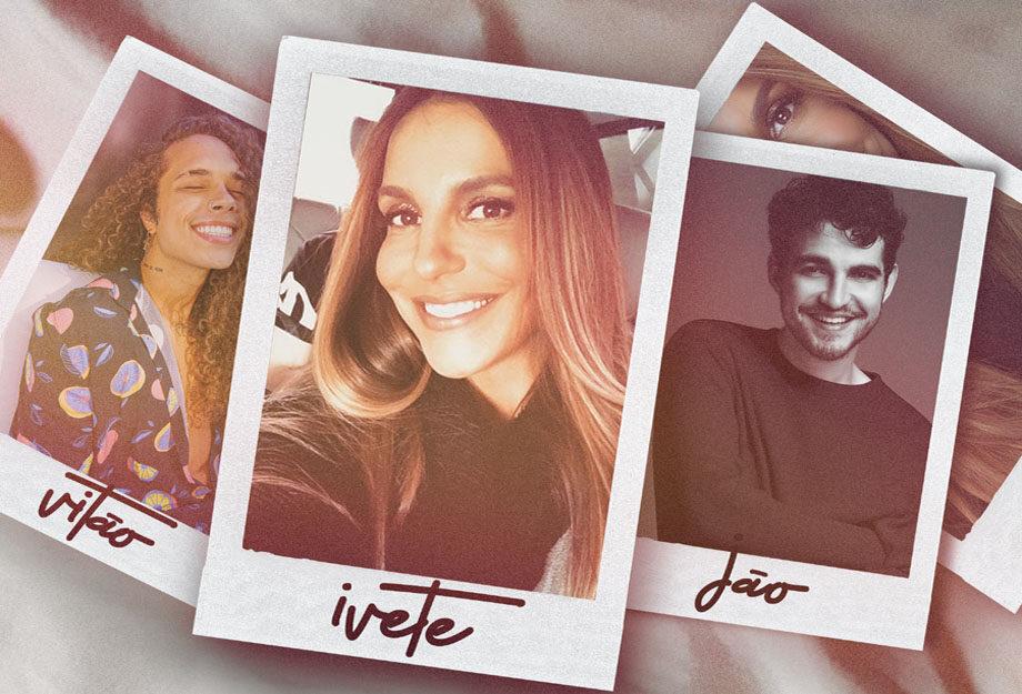 foto: 1 - Ivete faz mais uma live e lança duas músicas novas com Vitão e Jão