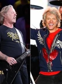 Sai lista das celebridades que mais faturaram e tem Bon Jovi, Metallica e mais