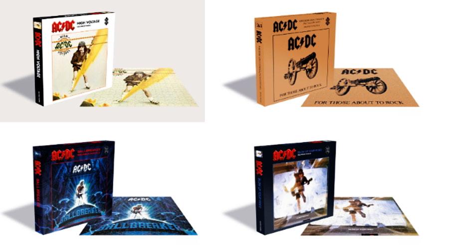 foto: 1 - Vai rolar quebra-cabeça das capas icônicas do AC/DC. Veja aqui