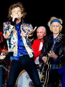 Rolling Stones lança raridade com Jimmy Page, do Led Zeppelin