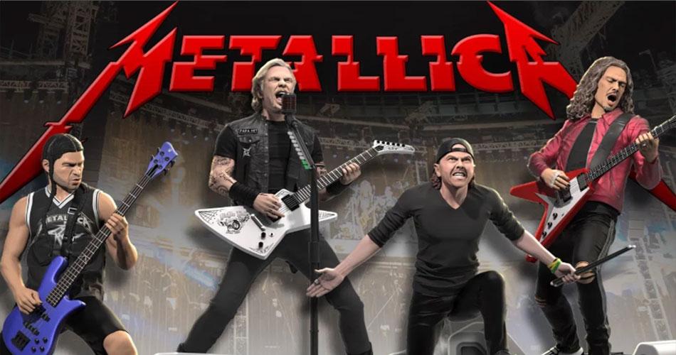 foto: 1 - Metallica ganha estátuas colecionáveis. Garanta a sua na pré-venda