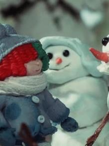 Sia vira personagem de animação em clipe fofíssimo de Snowman
