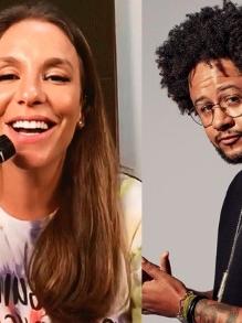 Ivete e Emicida lançam mais uma canção juntos. Escute aqui