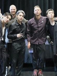 Coldplay libera remix de parceria com o BTS. Escute aqui como ficou